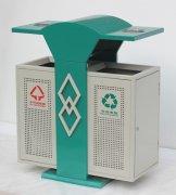 DX30小区钢制分类垃圾桶