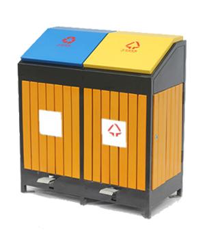 M-09钢木分类垃圾桶
