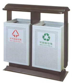 DX16钢制分类垃圾桶