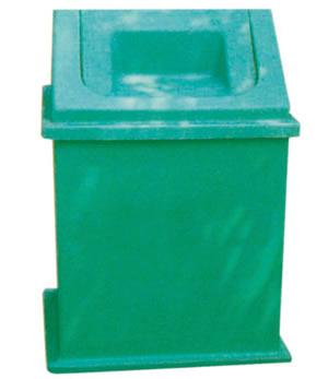 摇盖式垃圾桶016