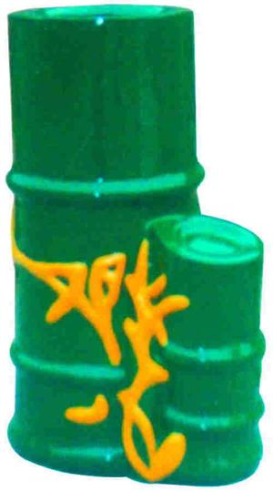竹桶形果皮箱021