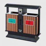 M-18钢木分类垃圾桶