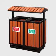 M-03钢木垃圾桶