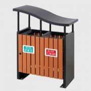 GM04钢木垃圾桶